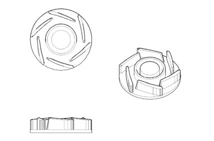 Water Pump Impeller patent drafting services